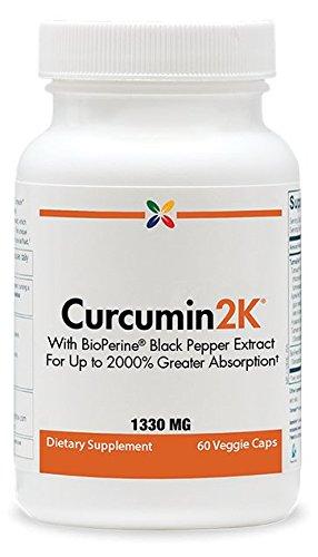 Image of a bottle of Curcumin2K