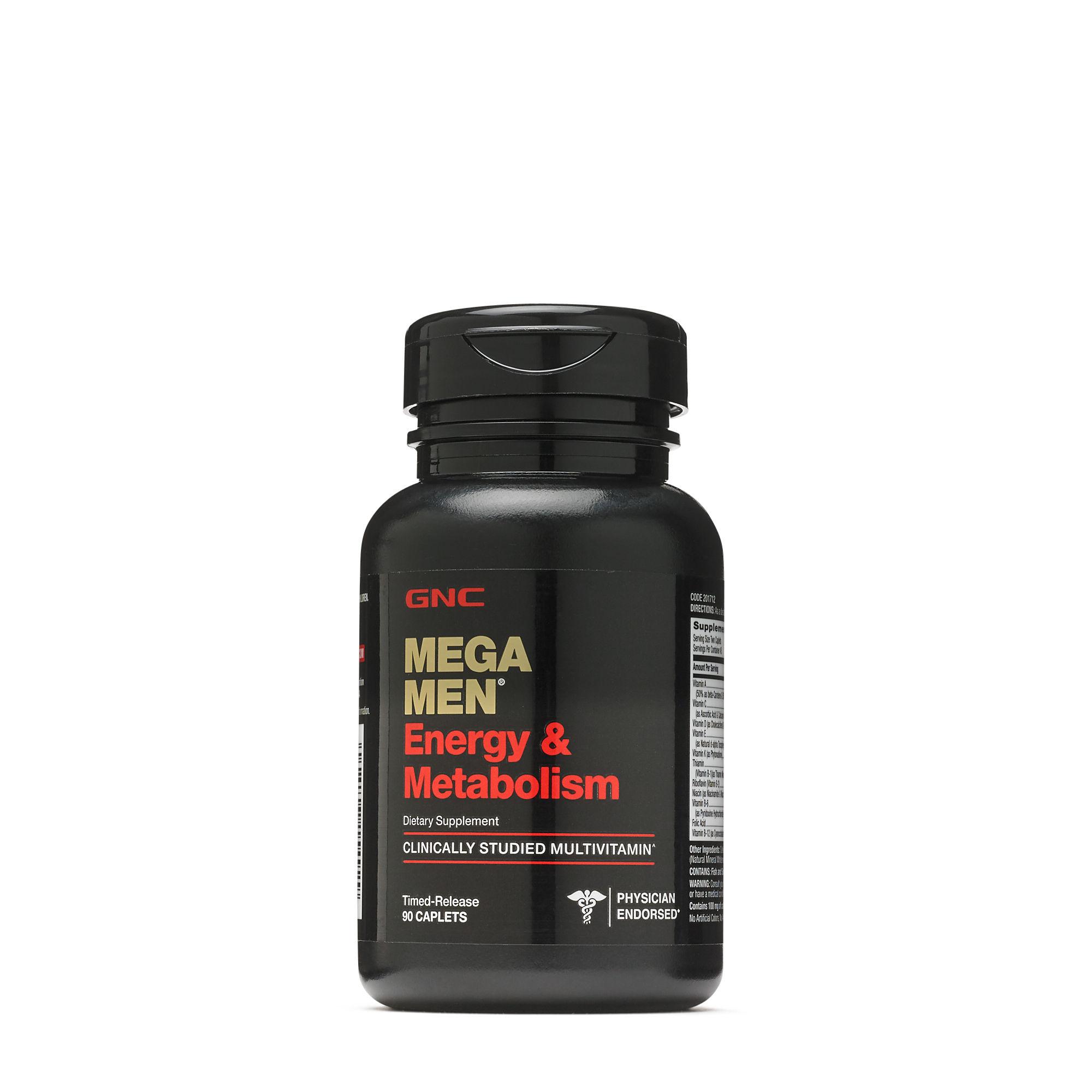 Image of a bottle of GNC Mega Men