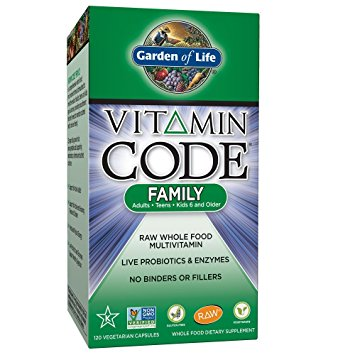 Image of a box of Garden of Life Vitamin Code Family