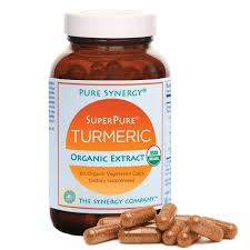 Image of a bottle of PureSynergy Turmeric