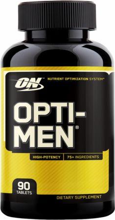 Image of a bottle of Optimum Nutrition Opti-Men