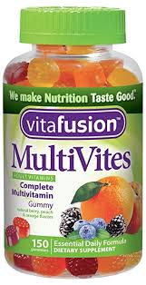 Image of a bottle of Vitafusion MultiVites