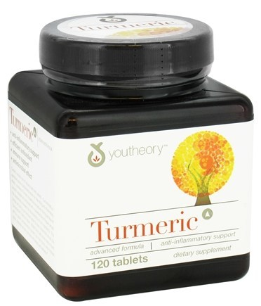 Image of a container of Youtheory Turmeric