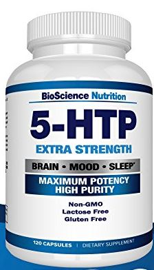 Image of 5-HTP 200 mg Supplement - 120 Capsules