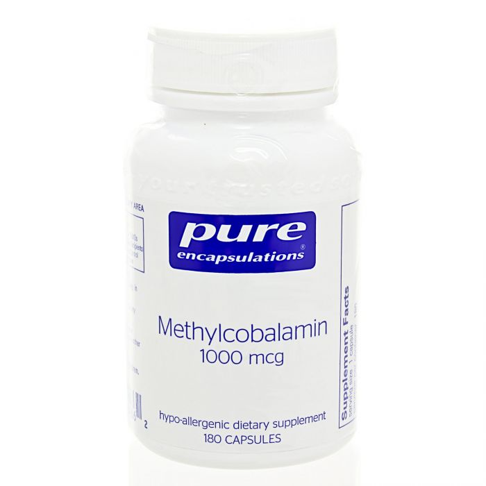 Pure Encapsulations Methylcobalamin Vitamin B12 Review