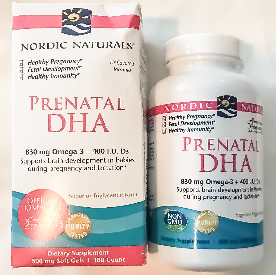 Image of Nordic Naturals Prenatal DHA Supplement