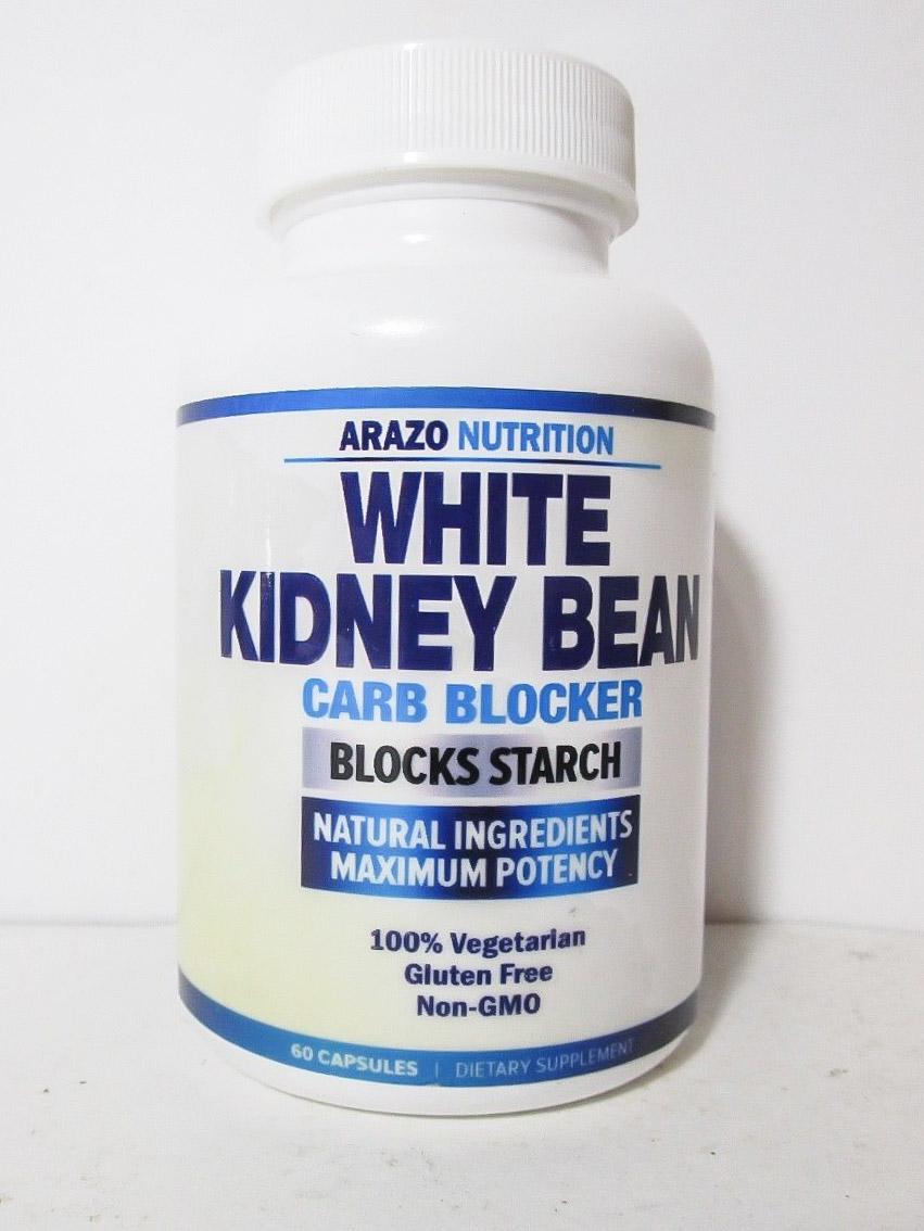 Image of Arazo Nutrition's White Kidney Bean Carb Blocker Supplement