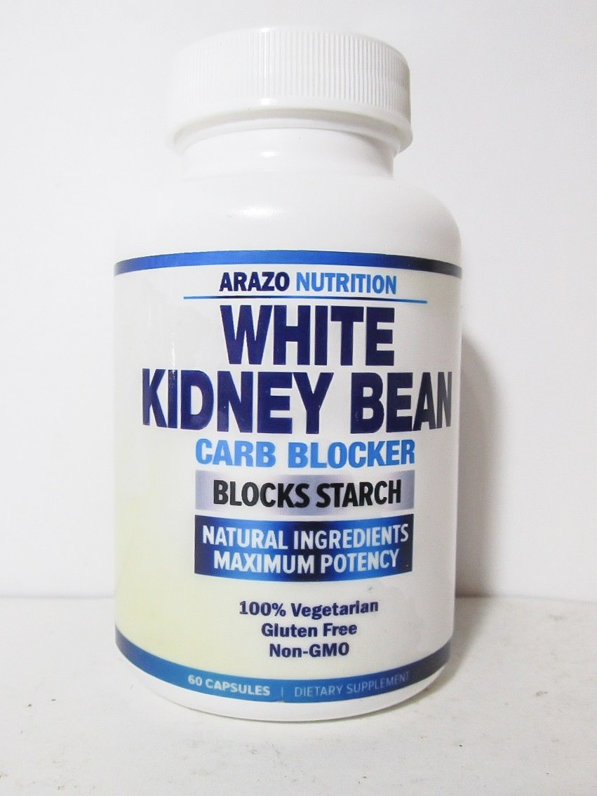Image of Arazo Nutrition's White Kidney Bean Carb Blocker Supplement