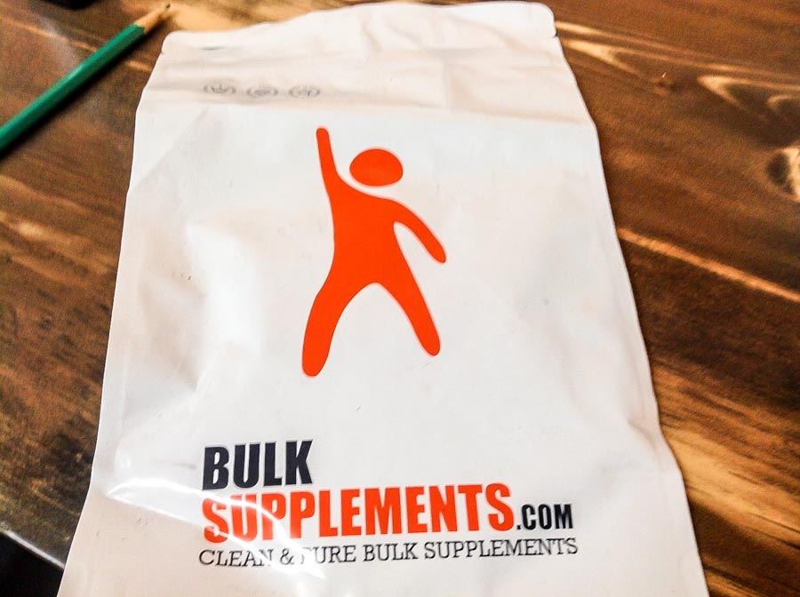 Image of a bag of BulkSupplements CLA