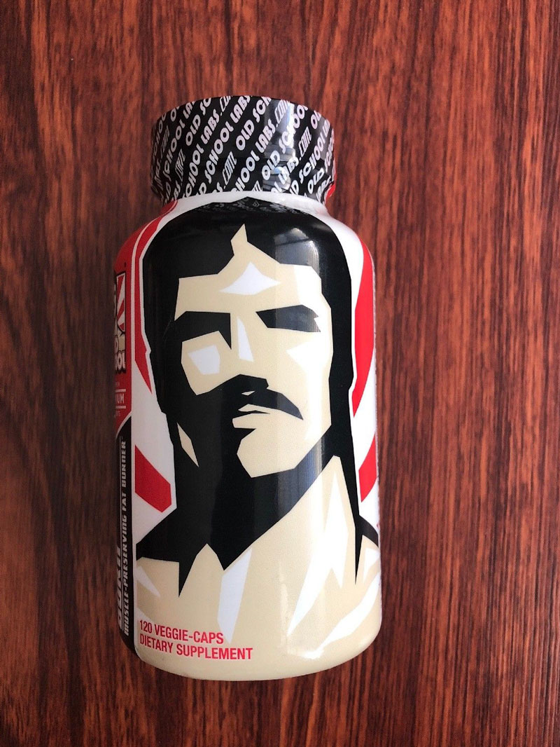 Image of a bottle of Old School Vintage Burn Fat Burner