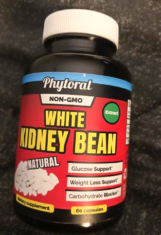 Image of a bottle of Phytoral White Kidney Bean Supplement