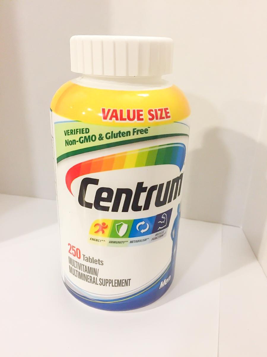 Image of the best iron supplement for men, Centrum Men's Multivitamin
