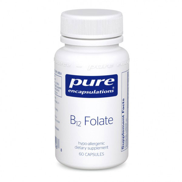 Image of a bottle of Pure Encapsulations B12 Folate
