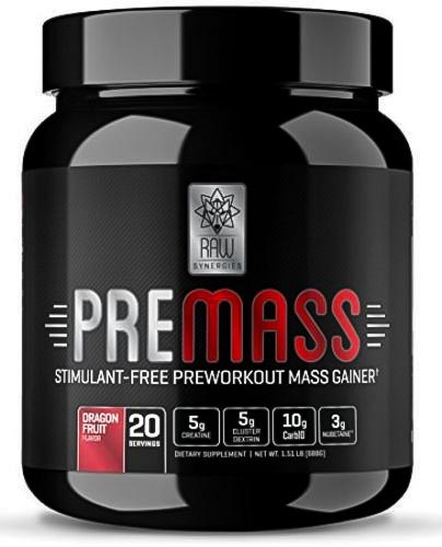 Image of a bottle of the best pre-workout supplement for muscle gain