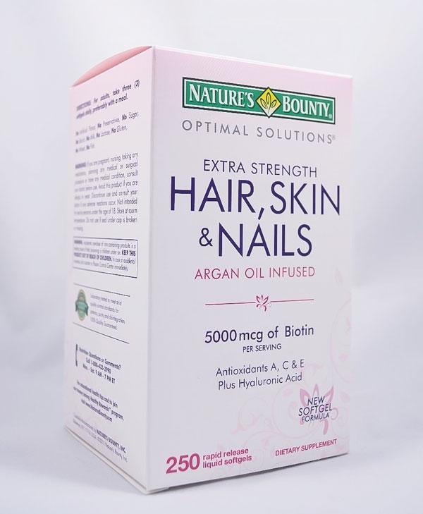 Image of a box of Nature's Bounty Hair, Skin & Nails