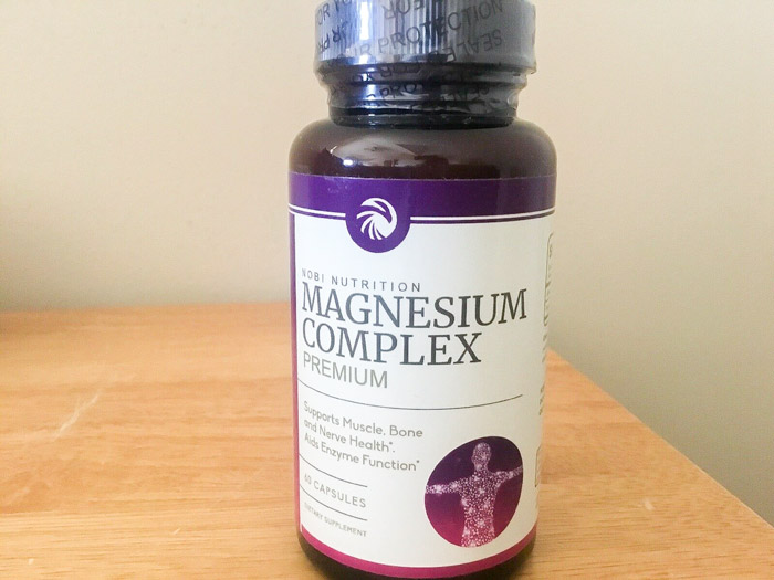 Image of a bottle of Nobi Nutrition Magnesium Complex
