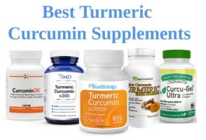 Image of the best turmeric curcumin supplements