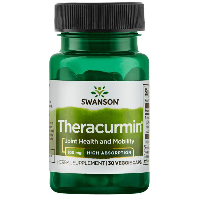 Image of a bottle of Swanson Theracumin Turmeric Curcumin